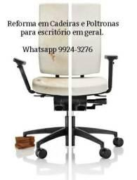 Reforma em cadeiras