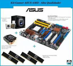 Kit Gamer Phenom x6 ii 1090t + Placa mãe asus + 8gb de Ram