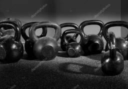 Kettlebells de vários tamanhos CrossFit Funcional Treino Musculação comprar usado  São Paulo