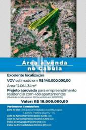 ÁREA À VENDA NO CABULA: 12.064,34M2