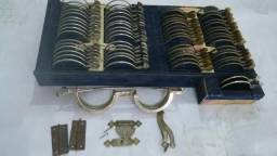Antiguidade Caixa de Provas Optica para restaurar