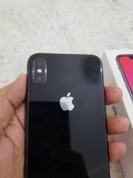 Troco ou vendo iPhone X 256 gigas