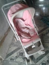 Carrinho de bebe menina