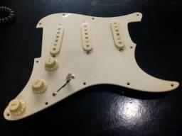 Escudo guitarra stratocaster squier coreia completo