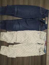 Kit 2 calças jeans Feminina Tam 38/40