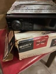 Rádio e DVD Sony