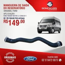 MANGUEIRA DE SAÍDA DO RADIADOR ORIGINAL FORD