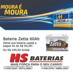 Bateria de Carro Zetta 60 Ah Amperes