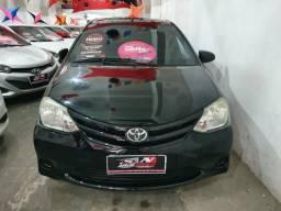 Toyota Etios Sedan 2015 1.5 1 mil de entrada Aércio Veículos cgy - 2015