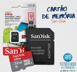 Cartao de memoria 32gb Ultra - Classe 10 -sandisk
