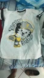 Camisetas infantil usada