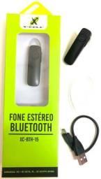 Fone de Ouvido Bluetooth X-cell p/ atender ligações e ouvir músicas (Atacado e Varejo)