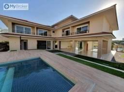Sobrado com 5 dormitórios à venda, 822 m² por R$ 12.000.000,00 - Residencial Alphaville Fl