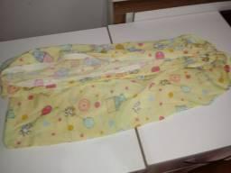 Combo Dois lenço de berço, e tres mantas