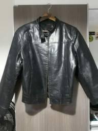 Jaqueta em couro legítimo