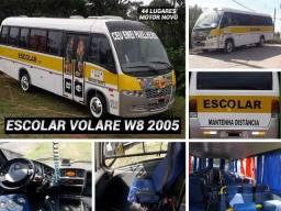 Micro Onibus Escolar Volare W8 2005 44 Lugares R 69.999,99 Ac Trc por Van