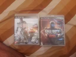 Vendo Battlefield 4 e call of duty blacks ops3(somente online/zombies) os dois sair por 40
