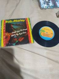 Lp compacto Bob Marley 60 reais.