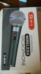 Título do anúncio: Microfone Profissional Byz D-M58 Tipo Shure (Novo)