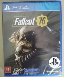 Fallout 76 Ps4 Mídia Física Novo Lacrado