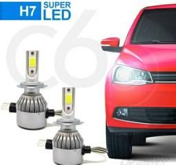 Lâmpadas super LED p/ carro todos os modelos.