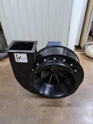 Exaustor de ar centrifugo ec4tar 5cv trifasico ventisilva semi novo
