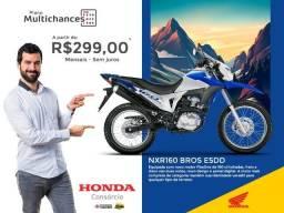Título do anúncio: Vende se Moto honda Bross 160 ESDD 0km