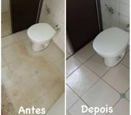 Limpeza em geral de todo tipo de piso, azulejos e calçadas