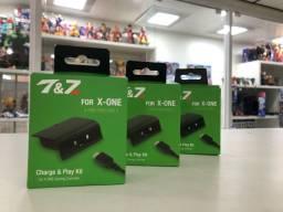 Kit carregador e bateria para controle de Xbox one