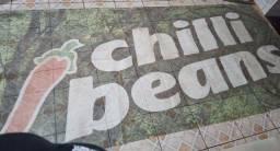 Tela emborracha chilli beans