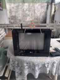 Tv 14 polegadas LG,antena digital e conversor