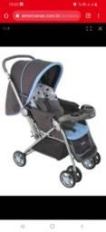 Título do anúncio: Carrinho de bebê semi-novo