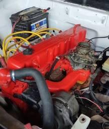 Motor 6 cilindros - Opala