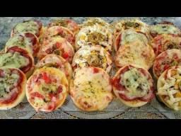 Mini pizza para eventos