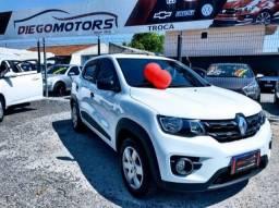 Título do anúncio: Renault Kwid Zen 1.0 2018 Top 60 mil km Revisados na Concessionária