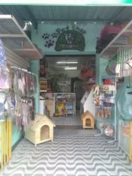Passo Pet shop no centro de Mesquita com tudo dentro