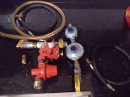 Kit válvula estação de gás novo