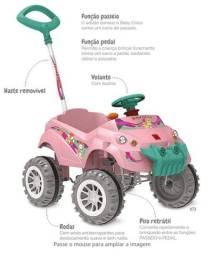 Título do anúncio: Carrinho Bandeirantes pedalar (a partir de 2 anos de idade)
