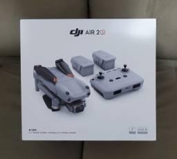 DRONE DJI AIR 2S COMBO NOVO, LACRADO À PRONTA ENTREGA