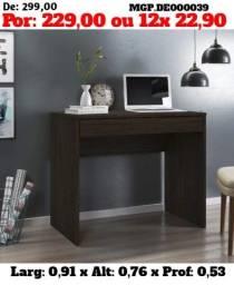 Escrivaninha de Gavetão -Mesa de Computador= Mesa de Estudo