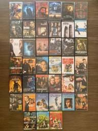 Pacote Com 40 Filmes Em Dvd - Só Filmão!