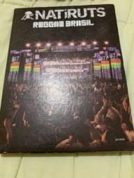 Vendo conjunto cd e dvd natiruts original 40reais