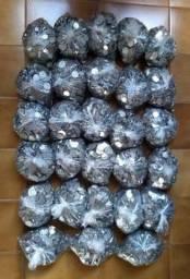 Coleção Com 10 Kg De Moedas Inox Antigas Várias Datas e Tipos