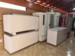 Título do anúncio: Várias opções em Freezers tampa vidro ou tampa cega  10x s juros cartão wats *