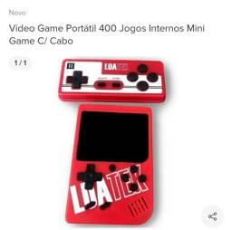 Vídeo game portátil nunca usado