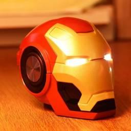 Caixa de som capacete homem de ferro - Até 12x Com Frete Grátis