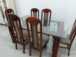 Título do anúncio: Mesa 6 cadeiras e balcão