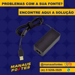 Carregador do Notebook Lenovo Ponta Quadrada
