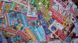 Revistas de bijuterias e chaveiros