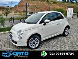 FIAT 500 2014 (4 PNEUS NOVOS) 1.4 CULT 8V FLEX 2P AUTOMATIZADO